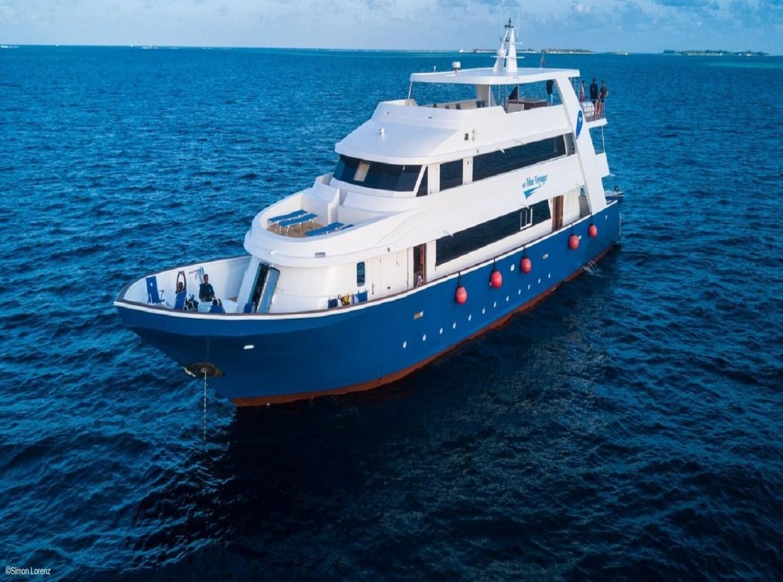 blue voyager, Maldives, credit to Simon Lorenz