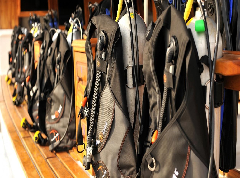 Palau Siren, Dive Kit,