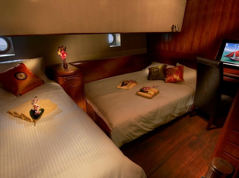 The phinisi cabin 5, Myanmar