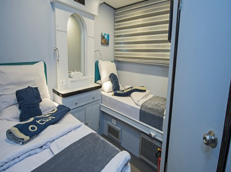 M/Y Red Sea Adventurer en-suite cabin
