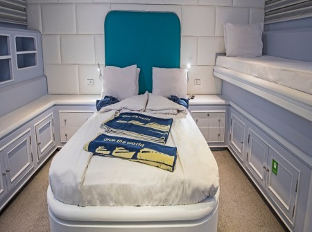 M/Y blue Fin liveaboard double room