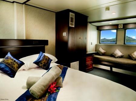 Truk Master interior cabin shot