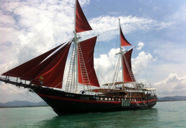 The Phinisi liveaboard, Myanmar