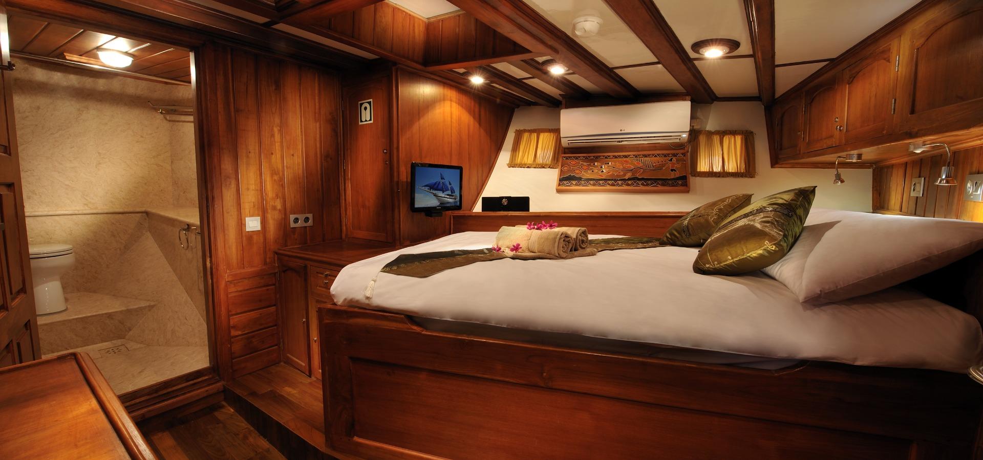 Palau Siren, Double Cabin,