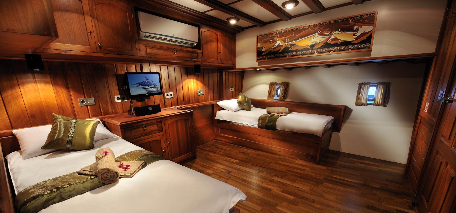 Palau Siren, Twin Cabin, 3,