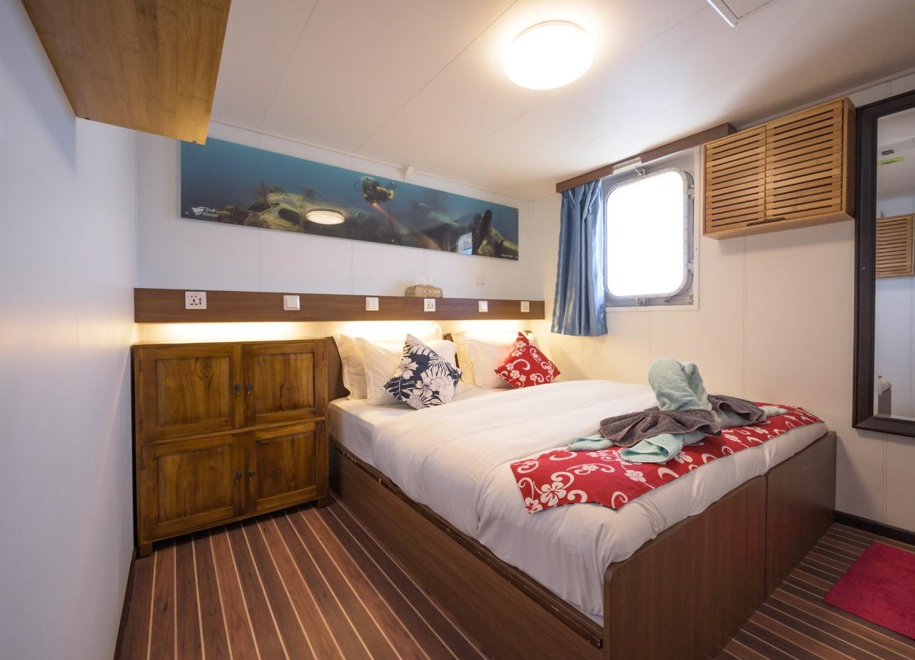 Upper deck double cabin